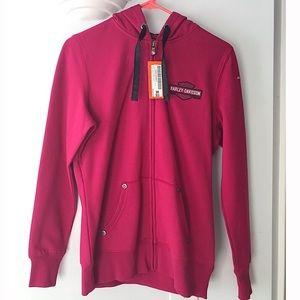 {Harley Davidson} full-zip jacket/sweatshirt